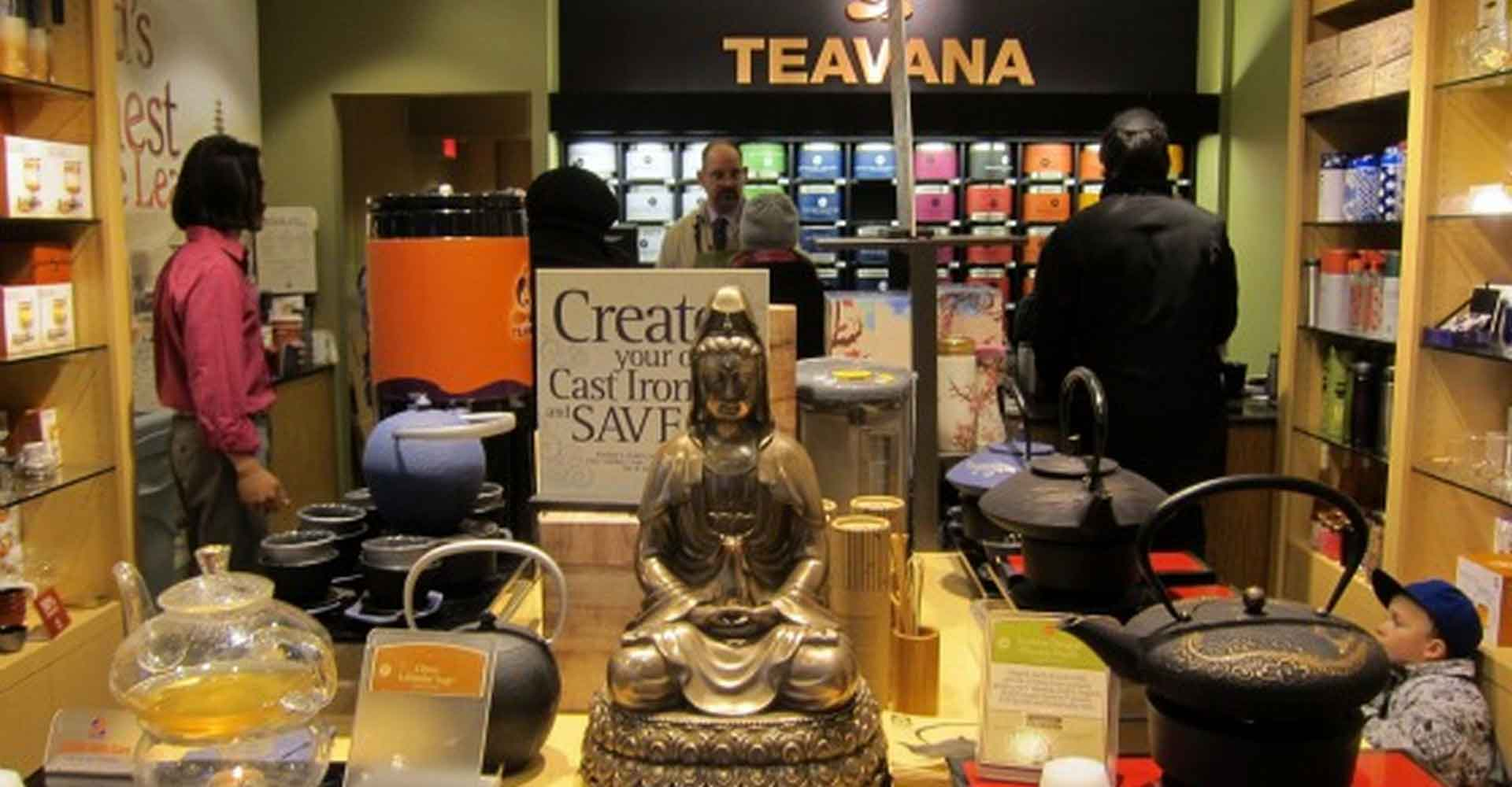 Магазин чайной Teavana
