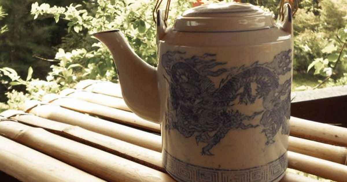 Чайник подходящи й для заваривания оолонга