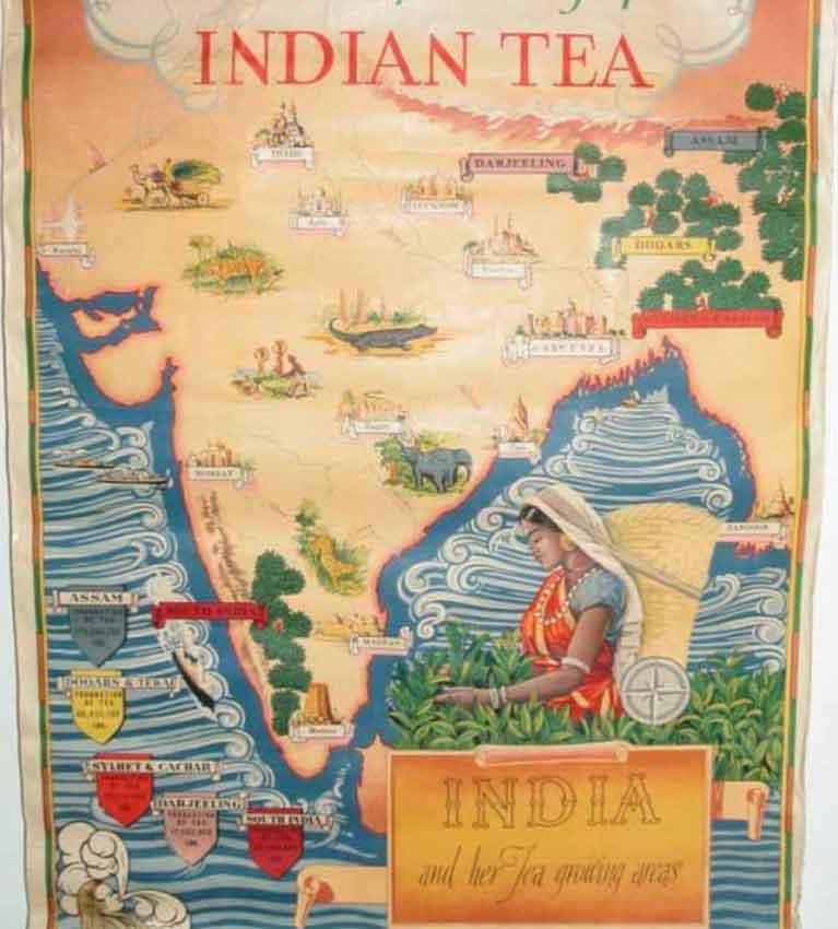 История Ассамской чайной Компании