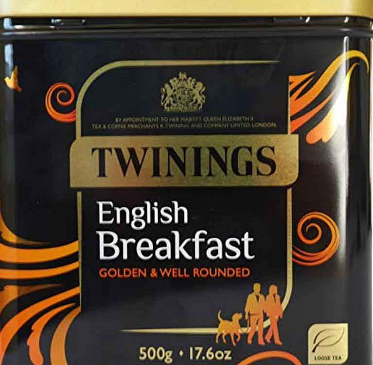 Чай english breakfast twinings