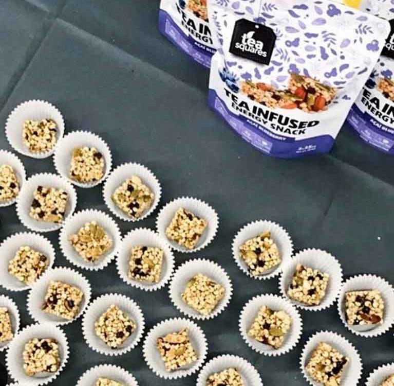Чайные квадратики: закуски размером с укус
