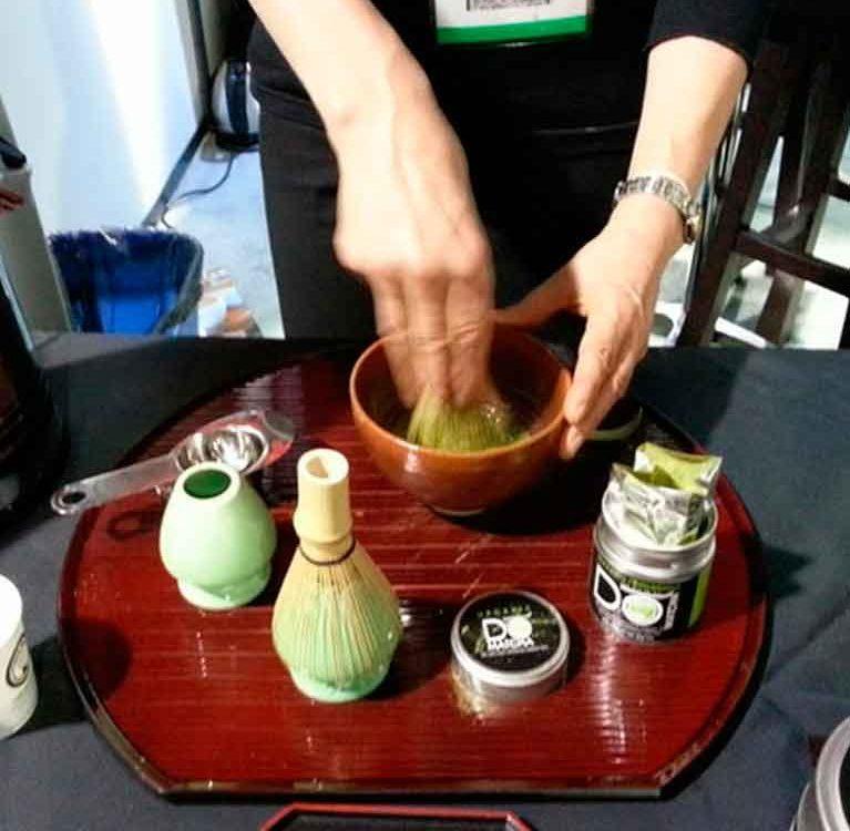 Матча в креативных форматах на World Tea Expo