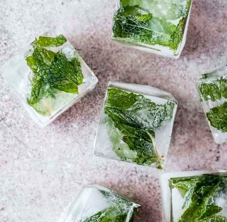 Замороженный зеленый чай хранится лучше